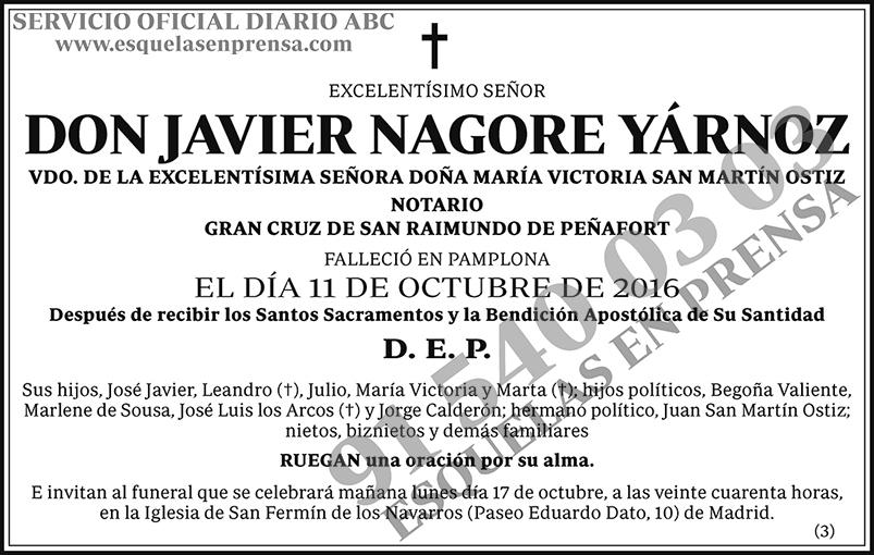Javier Nagore Yárnoz